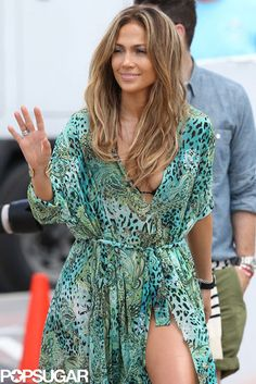 Video Vixen | Jennifer Lopez filmed her music video for Live it Up in Fort Lauderdale.