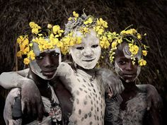 Karo Tribe, Ethiopia. Photo by J Nelson | http://www.yellowtrace.com.au/2013/11/28/jimmy-nelson-before-they-pass-away/