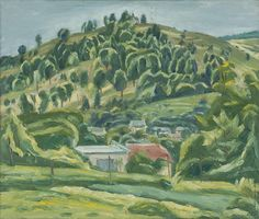 Ernest Zmeták: Zalesnená Kremnica:1957
