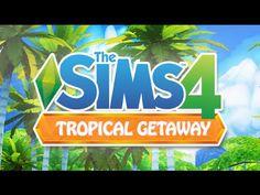 THE SIMS 4    Tropical Getaway   Beach World ( Mod Review)