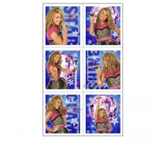 Hannah Montana 'Rock the Stage' Stickers (4 sheets)