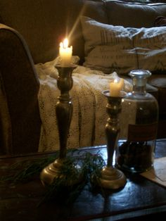 ~the soft glow of two candles~romance~