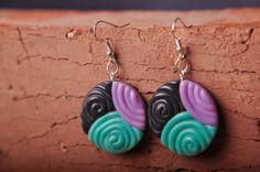 earrings. polymerclay. handmade Earrings, Handmade, Jewelry, Fashion, Ear Rings, Moda, Stud Earrings, Hand Made, Jewlery