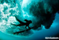 Unknown surfer girl duck diving a wave. Great underwater photo by @Jim Russi #Hawaii  I will do this one day!!!!