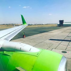 Fly time!!!! Going green today.