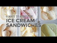 6 Ways to Make Fun Ice Cream Sandwiches | Yummy Ph