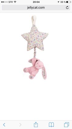 Lapin Jellycat musical