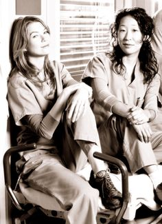 Day 3 Favorite Friendship, Definitely has got to be Meredith and Cristina without a doubt