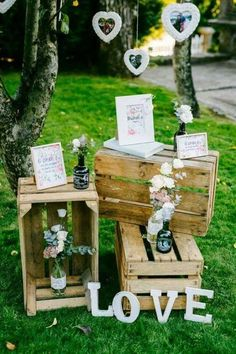 [tps_header] For those of you getting married in a barn, farm or other rustic wedding venue this post is for you. You can't beat a stack of wooden crates styled Fall Wedding, Wedding Ceremony, Rustic Wedding, Our Wedding, Diy Wedding Decorations, Wedding Themes, Wedding Ideas, Wooden Crates Wedding, Simple Weddings