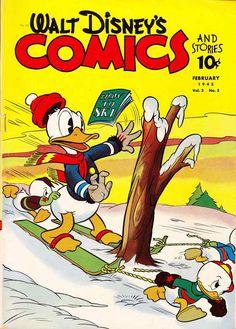 Donald Duck Dell No Golden Age Cartoon Character Comics Walt Disney, Disney Duck, Disney Love, Disney Art, Duck Cartoon, Cartoon Jokes, Old Cartoons, Disney Cartoons, Cartoon Characters