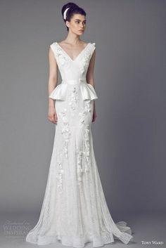 Свадебные платья от Tony Ward, 2015
