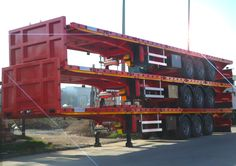Flatbed semi trailers by Alura Trailer