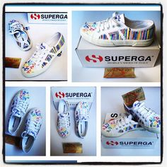 Sneakers Superga personalizzate dal designer Chico Monlap Art #Superga #style #monlap #monlapart #chicoart #chico #design #designer #art #sneakers #news #picture #cool #creative #color #collection #dipintoamano #handmade