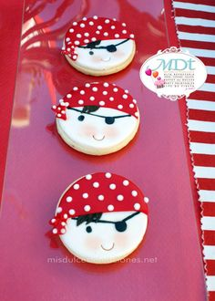 Sugar cookies - Pirate Themed Boys Birthday Party | Paarteez.com