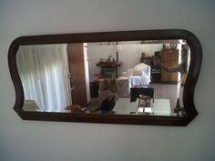 Espejo antiguo reciclado