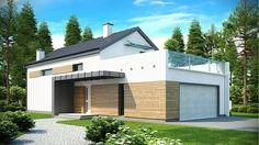 Projekt domu SZ5 Zx60 - DOM OZ5-16 - gotowy projekt domu