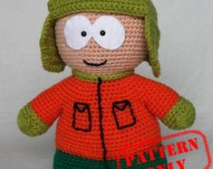 Image result for free crochet south park patterns