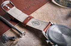 Red Wing just gave the Timex Waterbury watch a rugged remix
