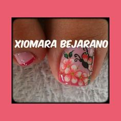 Manicure Y Pedicure, Print Tattoos, Acrylic Nails, Amanda, Nail Designs, Finger Nails, Pretty Toe Nails, Decorations, Brittle Nails