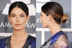 Thoroughly Modern Wedding Updo Ideas: Sleek low bun