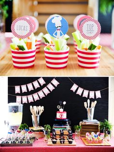 Modern Bistro Inspired Top Chef Birthday Party