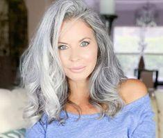 Long Gray Hair, Grey Hair, Grey Scale, Lady Grey, Silver Age, Fine Wine, Hair Beauty, Hair Color, Beautiful Women