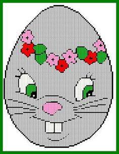 bunny egg face 1