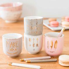 Pretty mugs from Maison du monde