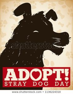 Find Commemorative Poster Dog Head Silhouette Awareness stock images in HD and millions of other royalty-free stock photos, illustrations and vectors in the Shutterstock collection. Thousands of new, high-quality pictures added every day. Street Dogs, Stray Dog, Dog Days, Adoption, Royalty Free Stock Photos, Silhouette, Illustration, Movie Posters, Pictures