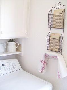 more laundry room deco