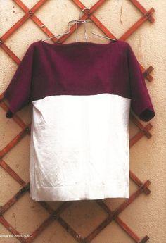 (Crédit : Rue de l'échiquier) Diy Vetement, Diy Tops, Techniques Couture, Deco, Diy And Crafts, Sewing, Crochet, Blog, Patterns