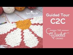 Learning Crochet C2C with Guided Procedures for C2C Graphghans