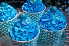 Bathbomb cupcakes with whipped soap frosting in saskatoon berry fragrance