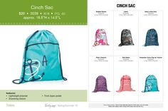 Cinch Sac, Thirty-One http://www.mythirtyone.com/AnneDively