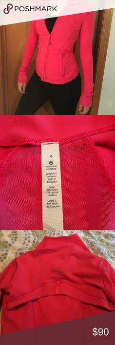 Lululemon zip up jacket Comfortable and soft lululemon jacket hardly worn! lululemon athletica Other