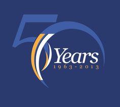 Emirates NBD - 50th Anniversary Logo Entry on Behance