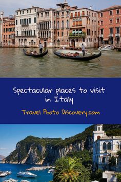 Places to visit in Italy - the most stunning attractions, landscapes and must visit cities and regions around Italy that you will want to visit. Check out the best places to visit around Italy and start planning your trip soon.