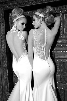 The detailing on ALL these dresses are just incredible. Never seen anything like it on some of these. Pure works of art!!  I am LOVING this Israeli Designer ; Galia Lahav -- I have an apt during her US tour for showing/fittings!!! --YAY!!----  Galia Lahav, 2014