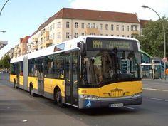 #Berlin low-floor articulated bus
