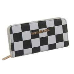Best Michael Kors Checkerboard Large Black Wallets Popular In The World