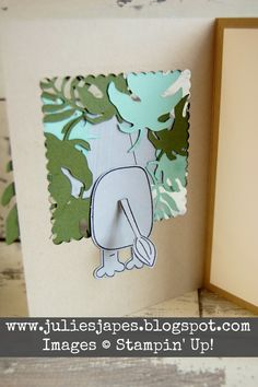 Julie Kettlewell - Stampin Up UK Independent Demonstrator - Order products 24/7: Playful Pals for a Party