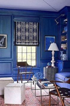 Navy blue house decor blue home decor 7 color trend home decor navy blue interior design . Decor, Blue Home Decor, Living Room Trends, Blue Painted Walls, Living Room Designs, Interior Design, Home Decor, Blue Rooms, Blue Interior