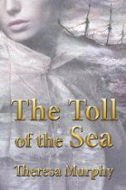 #TheresaMurphy The Toll of the Sea - A terrific storm on a night in the mid-1850s brings tragedy to Adamslee, an impoverished village on the south west coast of England. The Paloma, a ship bring the 38th Regiment of Foot back home from the Crimea, runs aground with the loss of 412 lives of soldiers, their wives and children. There is one survivor, the mysterious and handsome Joby Lancer. And in the ensuing months Lancer's life becomes entangled with the lives of some local villagers