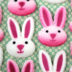 Bunny Face Sugars from the Layer Cake Shop