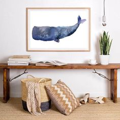 INSTANT DOWNLOAD Hi there, we are Jen and Josy. This listing is for a download of the original watercolour artwork by store owner Jen Barnes so you can print it at just the size you need.  Printing is super easy  Whales Watercolour #watercolor #coastaldecor #coastalart   beach house print coastal decor watercolor print Humpback #humpback #whale #Sperm Sperm #Killer Killer #Orca orca #Sea sea Art #art #print