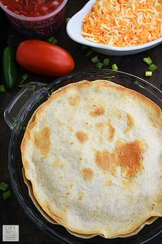 Easy Taco Pie Recipe | by Life Tastes Good Taco Pie Recipe With Tortillas, Tortilla Pie, Tortilla Recipe, Mexican Breakfast Recipes, Mexican Dishes, Mexican Food Recipes, Mexican Meals, Mexican Cheese, Taco Pie Recipes