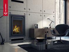 Fireplace MAJA  #kratkipl #kratki #fireplace #insert #interior #livingroom