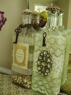 Simply me: Vintage Bottles
