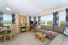 3 Bedroom Hire Holiday Caravans on site.