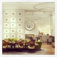 MO NEWS: The Rosebery at @mo_hydepark, perfect for afternoon tea or champagne cocktails, opens spring 2014! #MOnews | por Mandarin Oriental Hotel Group